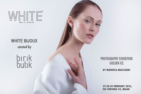 GOLDEN ICE: Mostra al White Show FW2016/17