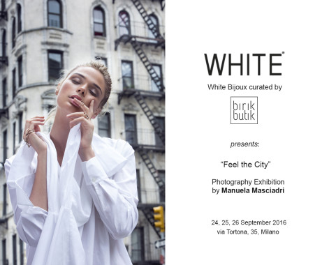 FEEL THE CITY: Mostra al White Show SS17