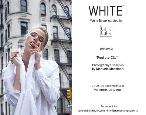 FEEL THE CITY: my Exhibition at White Show SS17
