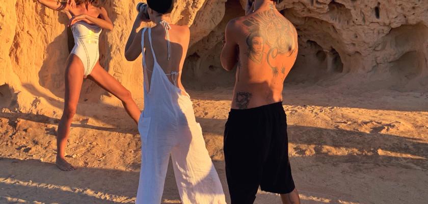 Hair Campaign in Ibiza: Alessandro Gesuita