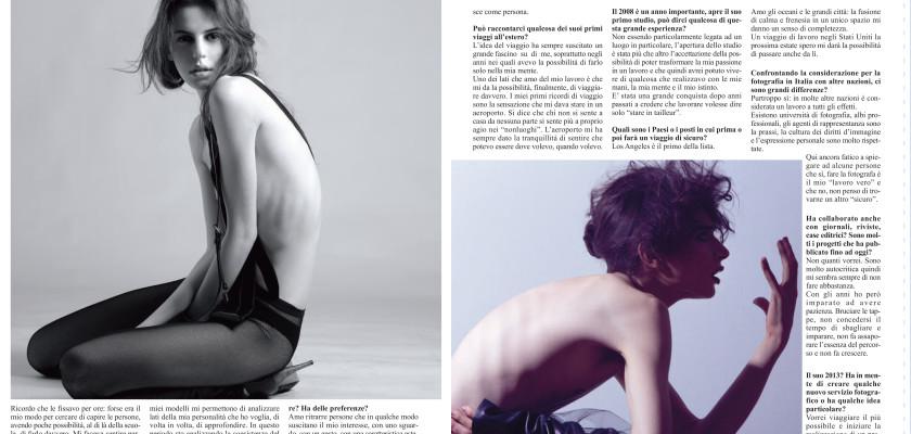 Intervista per Duemila Magazine