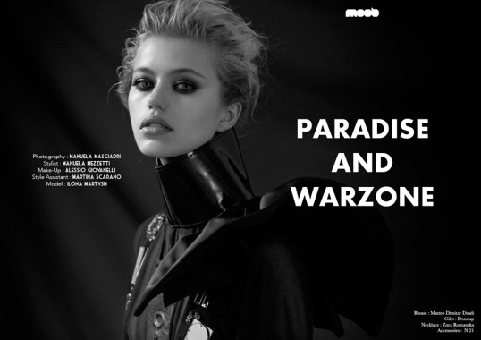 PARADISE AND WAR ZONE - Editorial